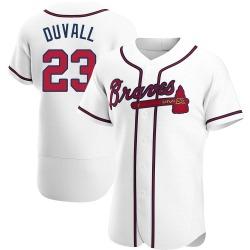 Adam Duvall Atlanta Braves Men's Authentic Home Jersey - White