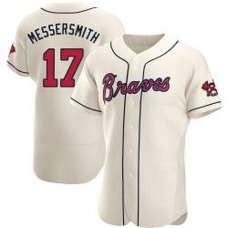 Andy Messersmith Atlanta Braves Men's Authentic Alternate Jersey - Cream