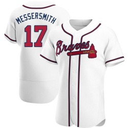 Andy Messersmith Atlanta Braves Men's Authentic Home Jersey - White