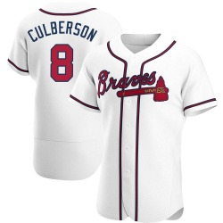 Charlie Culberson Atlanta Braves Men's Authentic Home Jersey - White