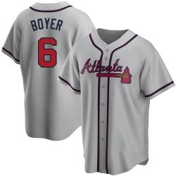 Clete Boyer Atlanta Braves Youth Replica Road Jersey - Gray