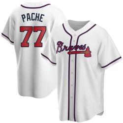 Cristian Pache Atlanta Braves Men's Replica Home Jersey - White