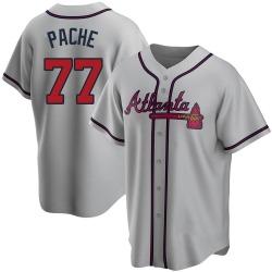 Cristian Pache Atlanta Braves Men's Replica Road Jersey - Gray