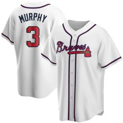 Dale Murphy Atlanta Braves Men's Replica Home Jersey - White