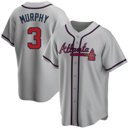 Dale Murphy Atlanta Braves Youth Replica Road Jersey - Gray