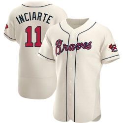Ender Inciarte Atlanta Braves Men's Authentic Alternate Jersey - Cream