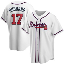 Glenn Hubbard Atlanta Braves Men's Replica Home Jersey - White