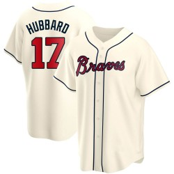 Glenn Hubbard Atlanta Braves Youth Replica Alternate Jersey - Cream