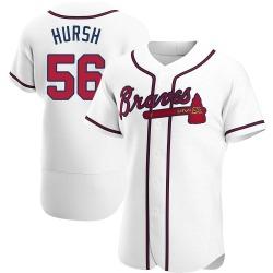 Jason Hursh Atlanta Braves Men's Authentic Home Jersey - White