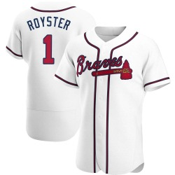 Jerry Royster Atlanta Braves Men's Authentic Home Jersey - White