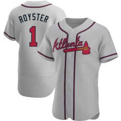 Jerry Royster Atlanta Braves Men's Authentic Road Jersey - Gray