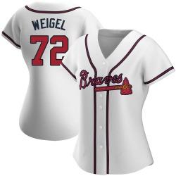 Patrick Weigel Atlanta Braves Women's Replica Home Jersey - White