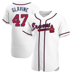 Tom Glavine Atlanta Braves Men's Authentic Home Jersey - White