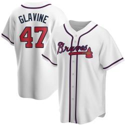 Tom Glavine Atlanta Braves Youth Replica Home Jersey - White