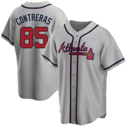 William Contreras Atlanta Braves Men's Replica Road Jersey - Gray